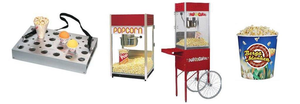 hyra popcornmaskin stockholm