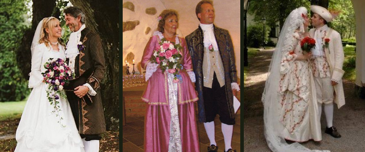 uthyrning maskeradkläder kostymer bröllopskläder Karl