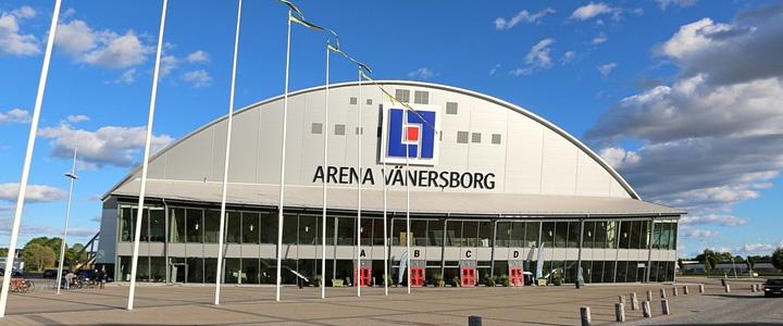 Meddelande till Arena Vänersborg | Boka Arena Vänersborg för